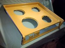 1973 GE drop in Harvest Gold yellow cooktop vintage range oven stove