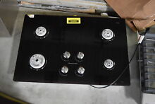 KitchenAid KGCC506RBL 30  Black 4 Burner Gas Cooktop NOB  30892 HRT