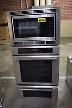 Thermador MEDMCW31JP 30  Stainless Triple Combo Wall Oven NOB  30903 HRT