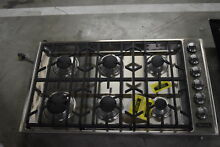 Viking VGSU5366BSS 36  Stainless 6 Burner Gas Cooktop NOB  30917 HRT