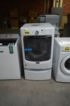 Maytag MGD3500FW 27  White Front Load Gas Dryer W  Pedestal Drawer  30948 HRT