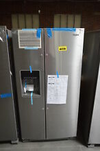 Whirlpool WRS325SDHZ 36  Stainless Side By Side Refrigerator NOB  30989 HRT