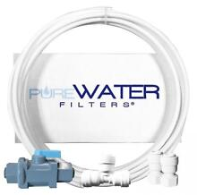 Water Line Hookup and Installation Kit for Refrigerators Ice Makers