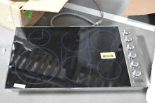 Viking VEC5366BSB 36  Stainless Smoothtop Electric Cooktop NOB  31024 HRT