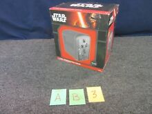 STAR WARS HAN SOLO CARBONITE ELECTRIC COOLER 6 PACK CANS AC DC DESK FRIDGE NEW