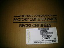 WPW10300024   W10300024 New Whirlpool Icemaker  OEM Factory Part