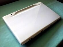 1955 GE Stratoliner white lower left drawer panel cover vintage oven stove range