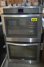 Whirlpool WOD93EC0AS 30   Stainless Double Electric Wall Oven NOB HRT
