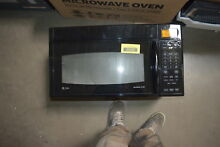 GE JVM1870BF 30  Black Over The Range Microwave Hood  30655 HRT