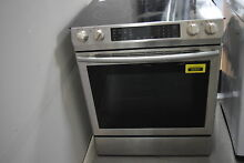 Samsung NE58K9430SS 30  Stainless Slide In Electric Range NOB  31294 HRT