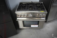 Thermador PRG366JG 36  Stainless Pro Style Gas Range  31318 HRT