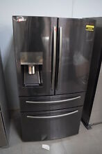Samsung RF28JBEDBSG 36  Black Stainless French Door Refrigerator NOB  31323 CLN