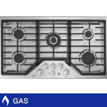 Brand New GE Caf  Series 36  Built in Gas Cooktop CGP9536SLSS