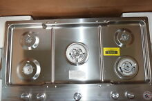 KitchenAid KCGS956ESS 36  Stainless Gas 5 Burner Cooktop  31715 HRT