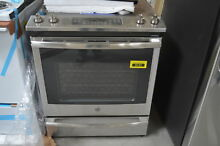 GE JS760SLSS 30  Stainless Electric Range w  Convection NOB  31744 CLW