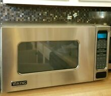 VIKING PROFESSIONAL SERIES 24  1100w MICROWAVE OVEN VMOS200 For Parts As Is