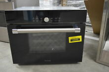 Thermador MES301HP 24  Black Microwave Steam Convection Wall Oven NOB  31874 HRT