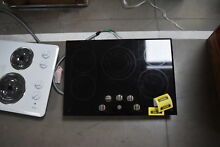GE CP9530SJSS 30  Black Smoothtop Electric Cooktop NOB  32177 HRT
