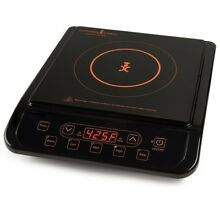 Portable Induction Cooktop 12 Single Hub rv Cook Top Plate Travel Electric NEW