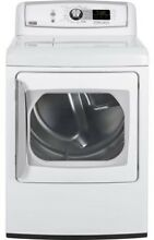 GE PTDS850EMWW 27  White Front Load Electric Steam Dryer NIB  4061