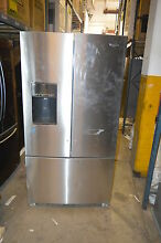Whirlpool WRF736SDAM 36  Stainless French Door Refrigerator NOB T 2  15638 CLW