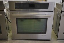 Jenn Air JJW2430WS 30  Stainless Single Electric Convection Wall Oven NEW  01176