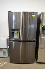 LG LPXS30866D 36  Black Stainless French Door Refrigerator NOB T 2  14274 CLW