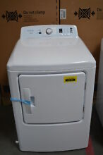 Insignia NS FDRE67WH 27  Front Load Electric Dryer White  33155 NOB HRT