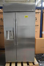 GE Profile PSB42YSKSS 42  Stainless Side x Side Built In Refrigerator  32254 HRT