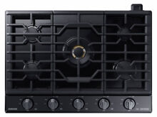Samsung Chef NA36M9750TM 36  Black Stainless 5 Burner Gas Cooktop NOB  32255 MAD