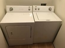 Washer And Dryer Set Estate Whirlpool  Dryer Needs To Get Fixed
