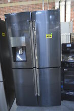 Samsung RF22K9381SG 36  Black Stainless 4 Dr French Door Refrigerator  32223 MAD