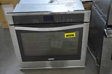 Whirlpool WOS51EC0AS 30   Stainless Single Electric Wall Oven NOB  32288 HRT