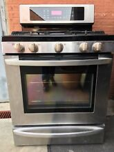 LG LRG3095ST 5 4 cu  Capacity Gas Single Oven Range w  EvenJe Convection System