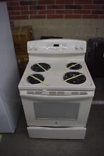GE JB250DFCC 30  Bisque Freestanding Electric Range NOB  32478 HRT