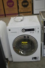 GE WCVH4800KWW 24  White Front Load Washer NOB  32521 HRT