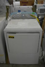 GE GTD45EASJWS 27  White Front Load Electric Dryer NOB  32530 HRT