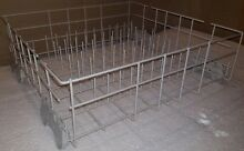 Used Whirlpool Dishwasher Lower Rack Assembly  Free Rollers  8561705  48 Hr Sale