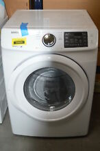 Samsung DV42H5000EW 27  White 7 5 cu ft Front Load Electric Dryer  32621 MAD