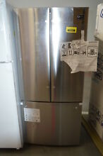 Samsung RF220NCTASR 30  Stainless Steel French Door Refrigerator NOB  32176 MAD