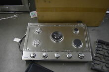 Samsung NA30K6550TS 30  Stainless 5 Burner Gas Cooktop NOB  32671 CLW