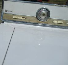 Vintage Maytag Washer and gas Dryer   Matched Set   Please read description