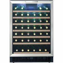 Built in designer 1 zone 5 3CU wine cooler