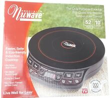 Nuwave Induction Cooktop 30121 portable electric stove Hearthware Precision NEW