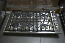 Viking VGSU5366BSS 36  Stainless Gas Sealed Burner Cooktop NOB  32784 HRT