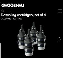Gaggenau   CLS20040  Descaling Cartridges for Plumbed Combi Steam Oven