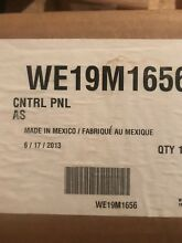 WE19M1656 GE Dryer White Control Panel Assembly PS3487077 AP4980791
