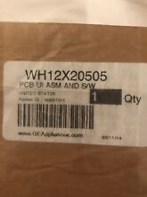 GE Washer Control Board with User Interface WH12X20505 WH12x25837