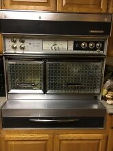 Frigidaire Custom Imperial Flair 40 inch range with hood  electric double oven