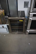 Insignia NSWB44SS8 24  Stainless 44 Bottle Wine Cooler NOB  33377 HRT